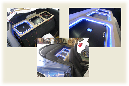 led flex strip for auto