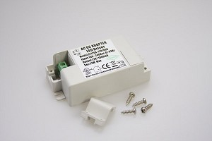 LED Driver, 120V AC to 12V DC, 24 Watts, 2 amp